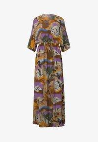 TOM TAILOR DENIM - Maxi dress - multi-coloured - 5