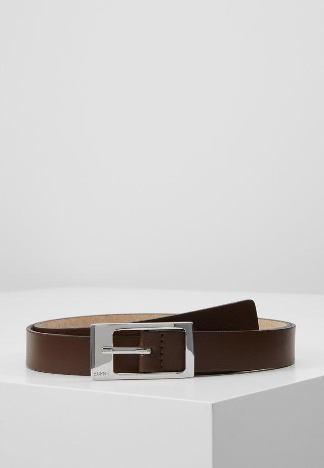 GAMILA - Pásek - brown