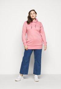 Ragwear Plus - NESKA PLUS - Mikina skapucí - pink - 1