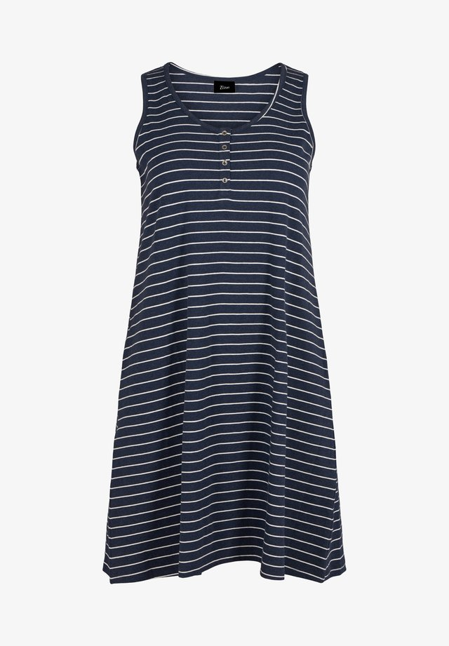 Sukienka z dżerseju - dark blue