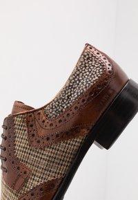 Melvin & Hamilton - CLINT - Lace-ups - wood - 5