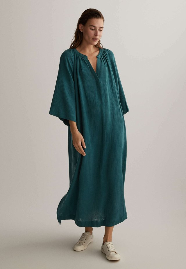 VOILE KAFTAN - Korte jurk - dark blue