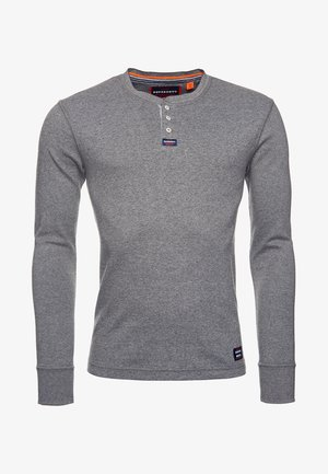 MIT LANGEN ÄRMELN  - Maglietta a manica lunga - carbon grey feeder