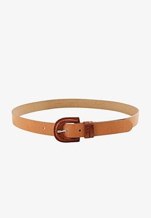 Belt - caramel