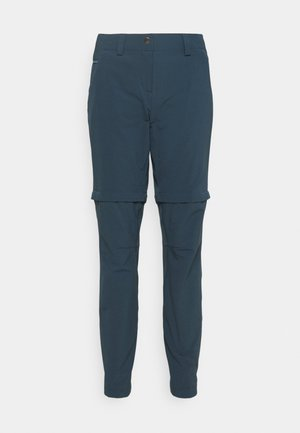 WOMENS SKOMER PANTS - Bukse - steelblue