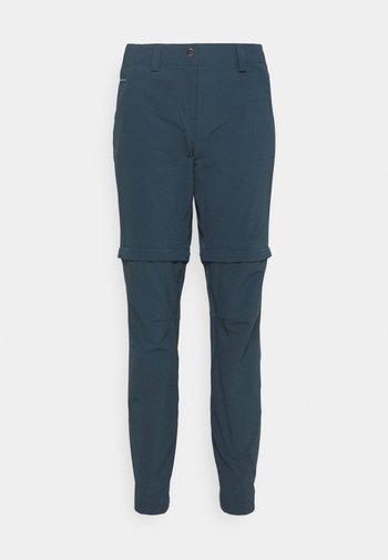 WOMENS SKOMER PANTS - Pantalon classique - steelblue