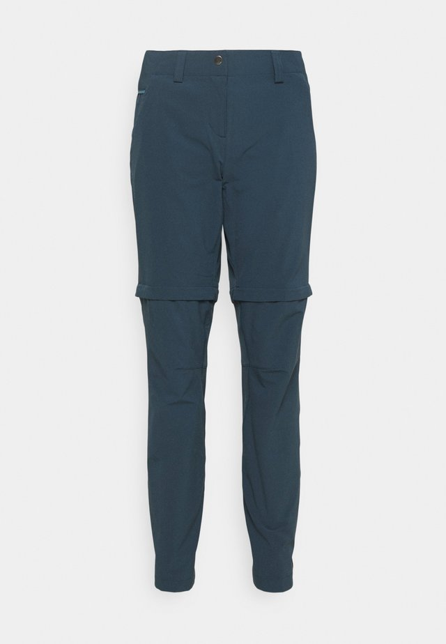 WOMENS SKOMER PANTS - Tygbyxor - steelblue