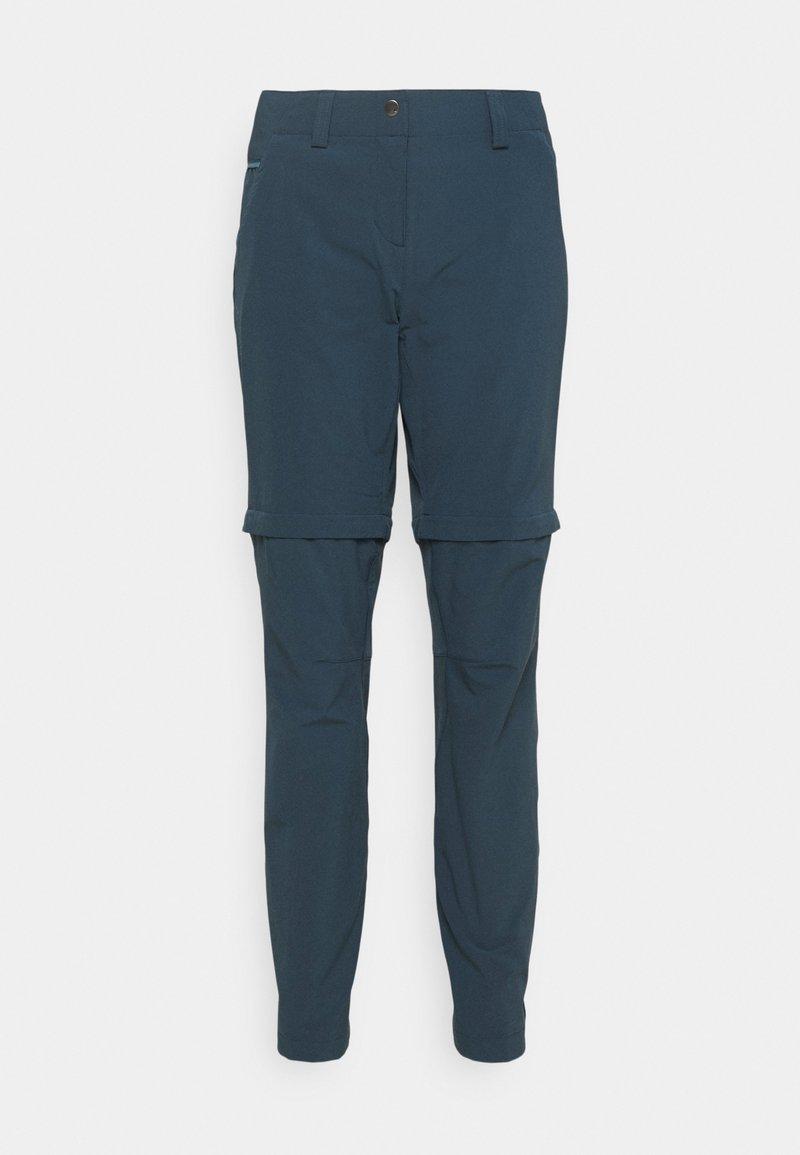 Vaude - WOMENS SKOMER PANTS - Pantaloni - steelblue