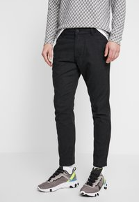 edc by Esprit - BRUSHED - Pantaloni - anthracite - 0