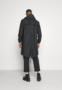 Rains - FISHTAIL UNISEX  - Parka - black - 2