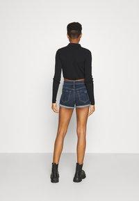 Hollister Co. - Denim shorts - dark dest - 2