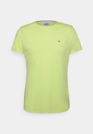 SLIM JASPE C NECK - T-Shirt basic - green