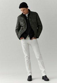 Massimo Dutti - Down jacket - green - 4