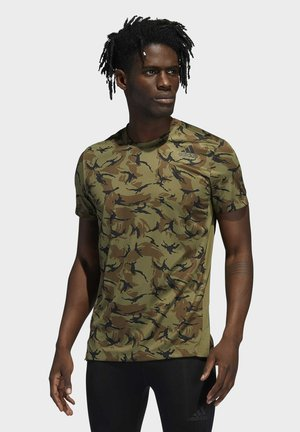 CAMO - Print T-shirt - green