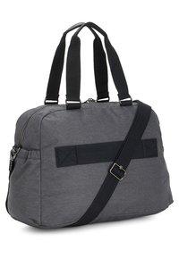 Kipling - PEPPERY DENY - Weekend bag - charcoal - 1