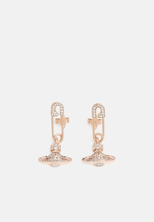LUCRECE EARRINGS - Earrings - rose goldcoloured