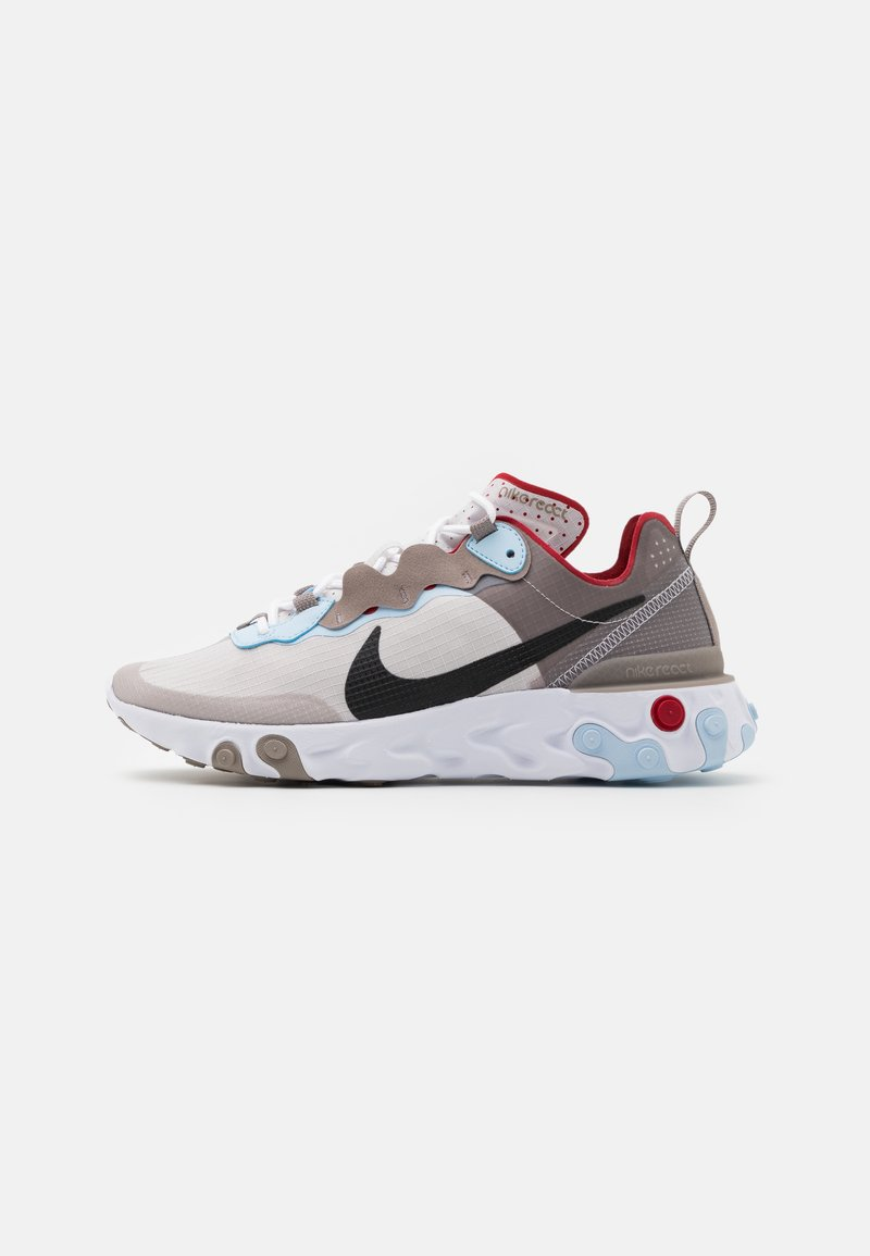 Nike Sportswear - REACT 55 RETRO UNISEX - Sneakers - enigma stone/black/vast grey/celestine blue/white