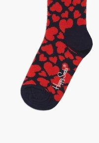 Happy Socks - KIDS HEART 3 PACK - Socks - multi-coloured - 2