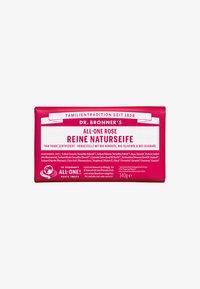 Dr. Bronner´s - PURE NATURAL SOAP 140G - Soap bar - rose - 0