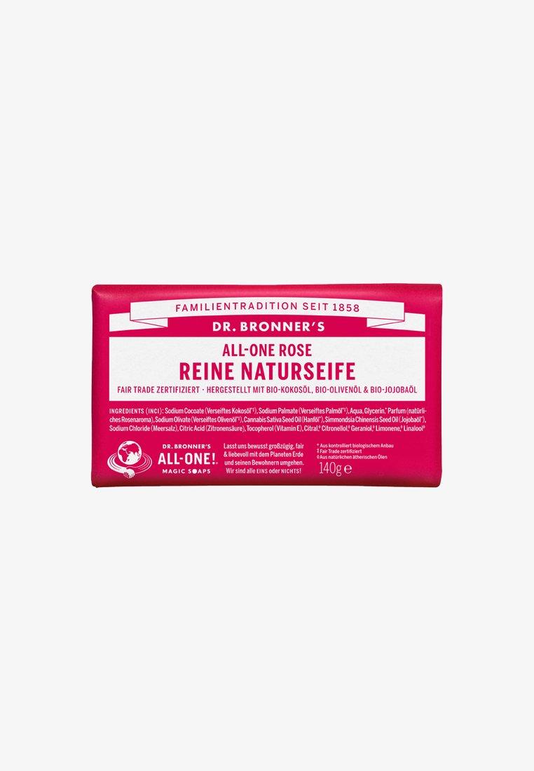 Dr. Bronner´s - PURE NATURAL SOAP 140G - Soap bar - rose