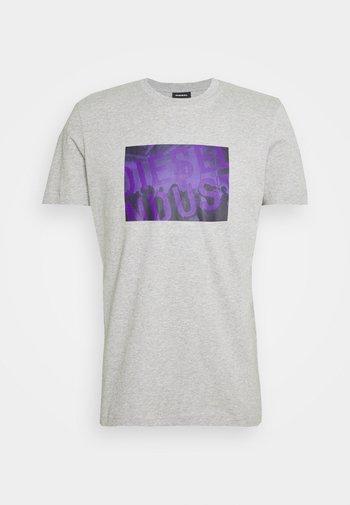 T-DIEGOS-K16 UNISEX - Print T-shirt - grey