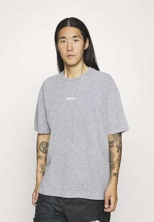 WITH DOUBLE BRANDING - T-shirt print - grey