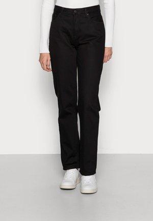 LOFTY BLACK SOUL - Straight leg jeans - black soul