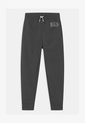 BOY HERITAGE LOGO  - Pantalon de survêtement - charcoal grey