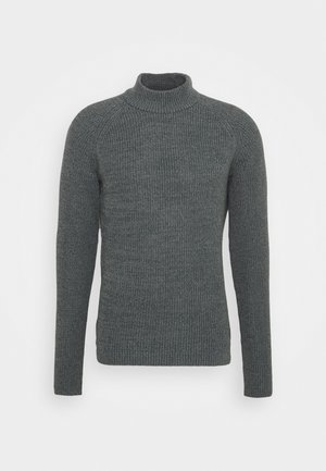 JPRBLAORWELL MOCK NECK - Jumper - dark slate