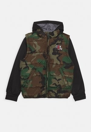 JUMPMAN CLASSIC - Winter jacket - olive canvas