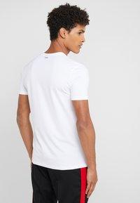HUGO - 2 PACK - T-shirt basic - black/white - 2