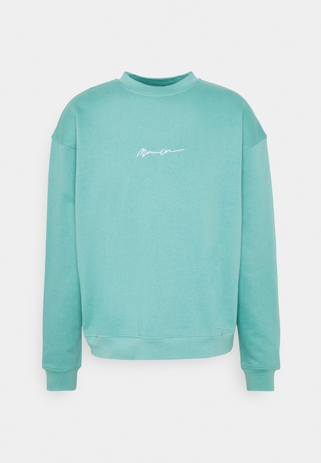 ESSENTIAL SIGNATURE BOXY UNISEX  - Sweatshirt - blue
