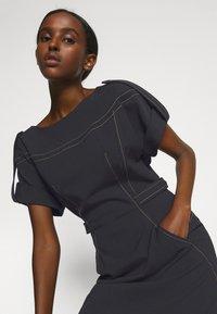 Alberta Ferretti - DRESS - Tubino - black - 3
