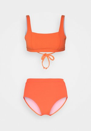 BUSTIER SET - Bikiny - lobster