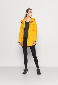 Didriksons - EDITH - Waterproof jacket - saffron yellow - 1