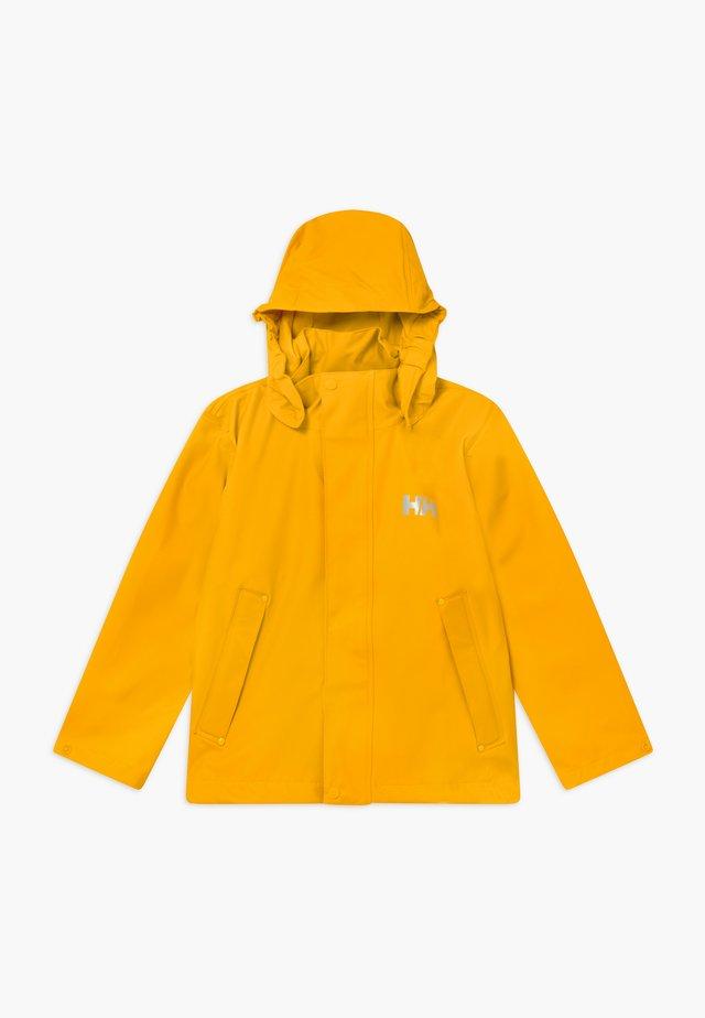 MOSS JACKET - Waterproof jacket - essential yellow
