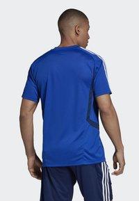 adidas Performance - TIRO - T-Shirt print - blue - 1