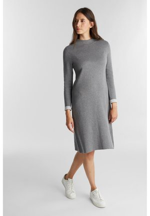 Jumper dress - gunmetal