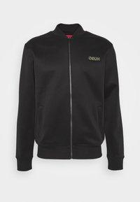 DAITO ZA - Zip-up hoodie - black/gold