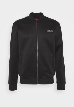 DAITO ZA - veste en sweat zippée - black/gold