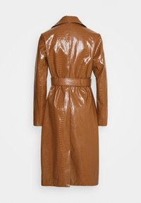 Missguided - CROC BELTED MAXI - Trenchcoat - tan - 1