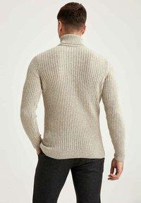 DeFacto - Stickad tröja - beige - 2