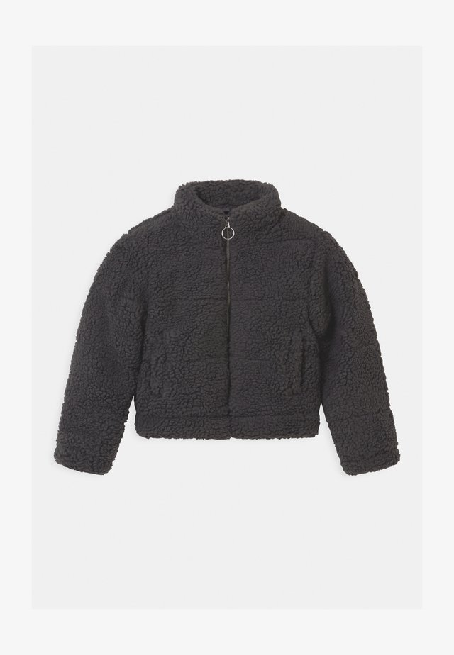 PUFFER BORG - Chaqueta de entretiempo - dark grey