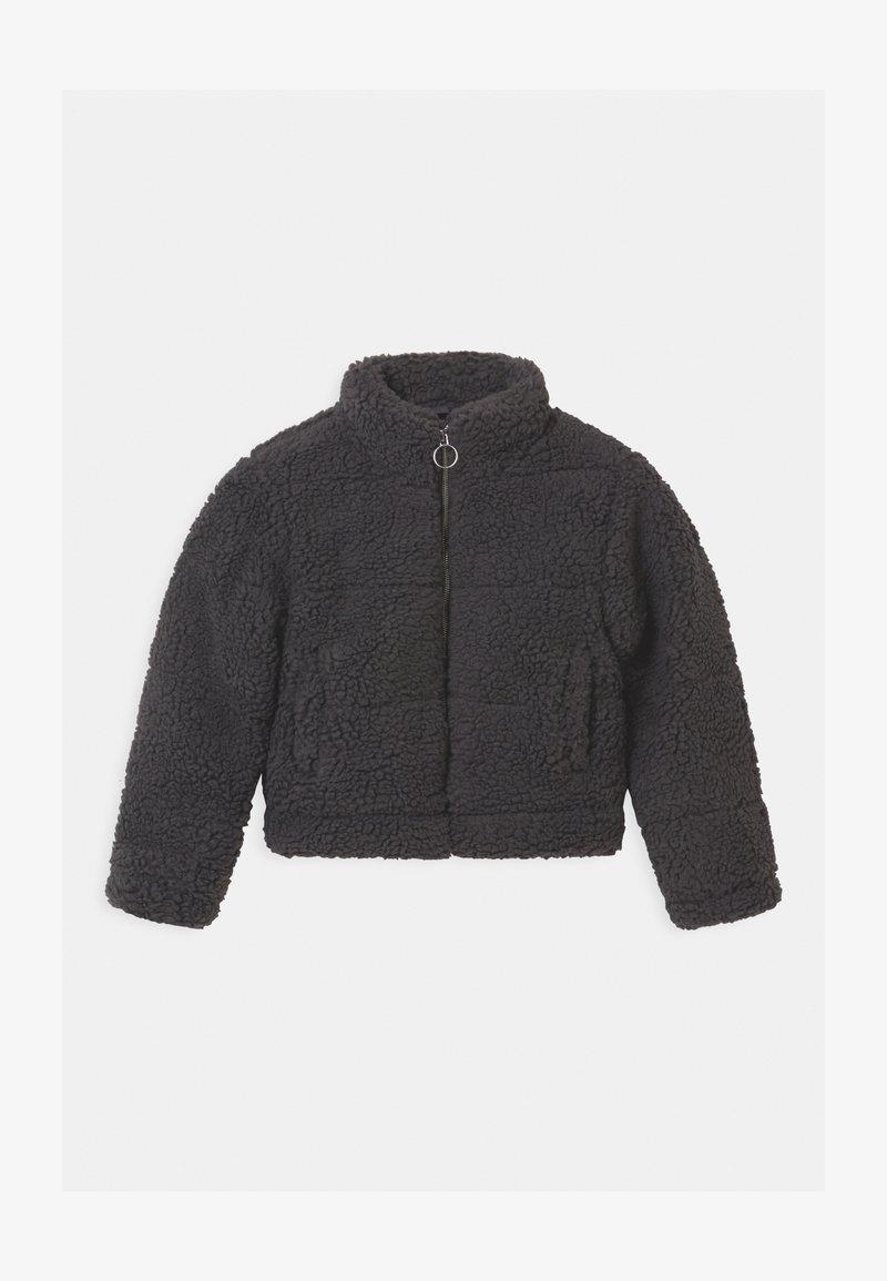 New Look 915 Generation - PUFFER BORG - Light jacket - dark grey