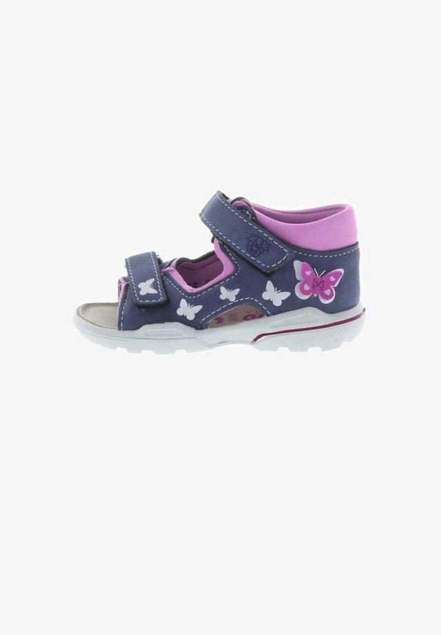 FRANKY - Slippers - nautic/rosa