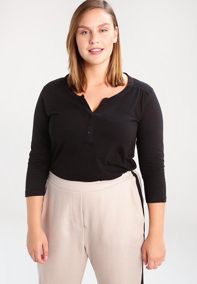 Zizzi - Long sleeved top - black