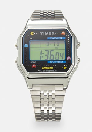 T80 PAC MAN UNISEX - Digital watch - silver-coloured