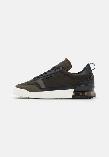 CONTRA - Trainers - green/black