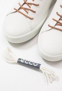 ECCO - SOFT 8 - Sneakersy niskie - white - 7
