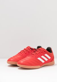 adidas Performance - COPA 20.3 IN SALA - Indoor football boots - active red/footwear white/core black - 3